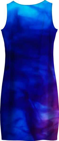 Blue Pink Women's Dress