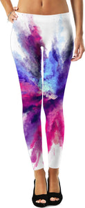 Purple Blue Pink Color Fest Women's Leggings