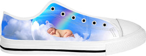 Baby In a Bubble Low Top Shoes