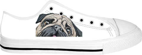 Pug Low Top Shoes