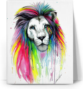 Lion Colors Canvas