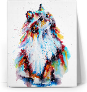 Cat Colors Canvas
