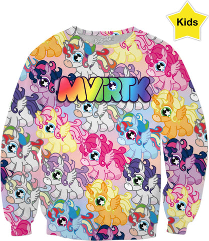 MVTRTK ALICORN Kids Swatshirt