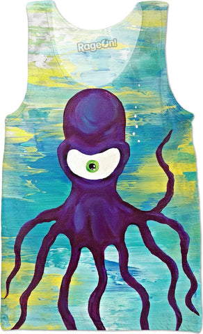 Spirit Animal Sight: Octopus Tank Top