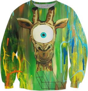 Spirit Animal Sight: Giraffe Sweatshirt