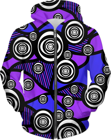 Abstract Eyes Hoodie