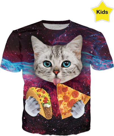 Taco Cat Kids T-Shirt