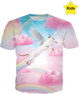 Fly High Kitty Kids T-Shirt
