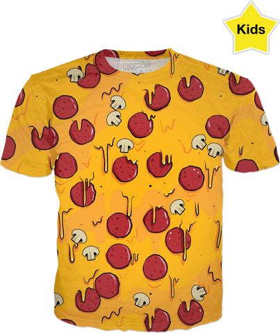 Pizza Time Kids T-Shirt