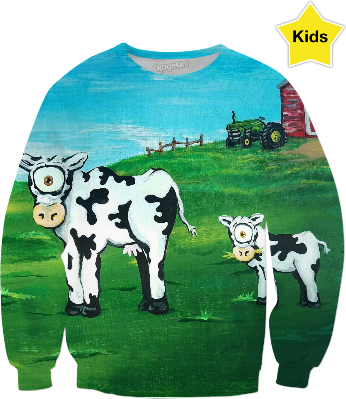 Udderly Enchanting Kids Sweatshirt