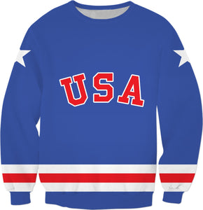 USA '80 Blue Sweatshirt