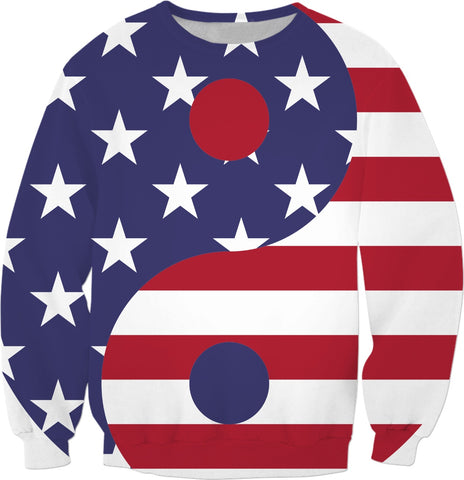 USA! Keep the Balance Sweatshirt