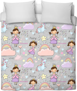 Unicorns and Fairies Duvet Cover