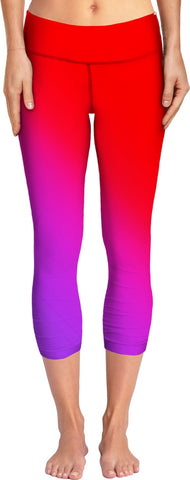 Red to Purple Women's Yoga Pants