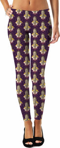 Frida Portrait Pattern Leggings