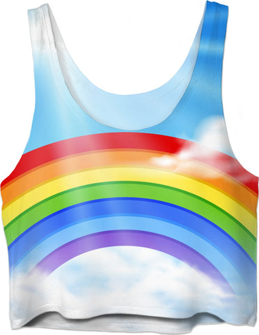 ROCT Rainbow Women's Crop Top