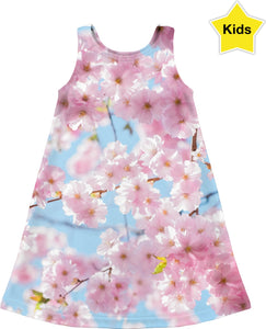 Cherry Blossom Children's Dress