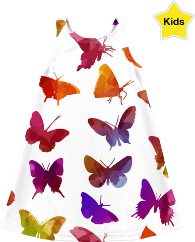 Butterflies All Around Children's Dress
