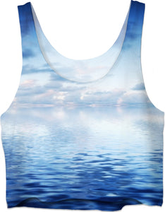 ROCT Sea Blue Women's Crop Too