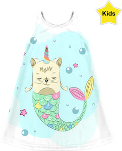 Unicorn Mermaid Children's Dress