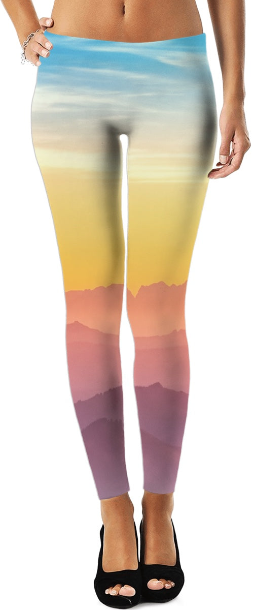 Peaceful Tranquility Women's Leggings