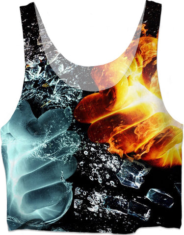 ROCT Fire And Ice Women's Crop Top