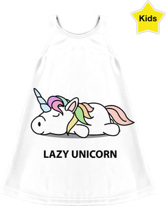 Lazy Unicorn Children's Dress