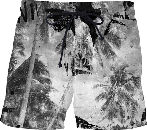 Broke Paradise Swim Shorts