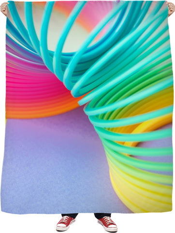 Slinky Fleece Blanket