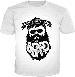 Can I Buy You a Beard Adult T-Shirt