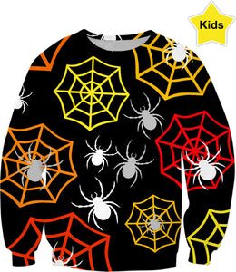 Creepy Crawlers Kids Sweatshirt