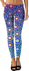 Polka Dots Multicolored 2 Women's Leggings