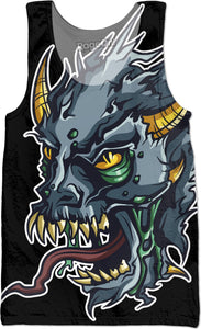 Demon Skull Tank Top