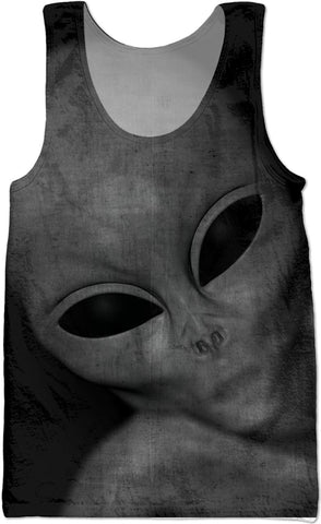 Alien Adult Tank Top