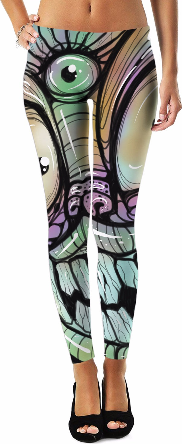 Graffiti Monster Leggings