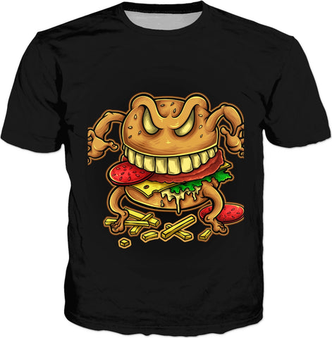 Curse of the Burger and Fries T-Shirt
