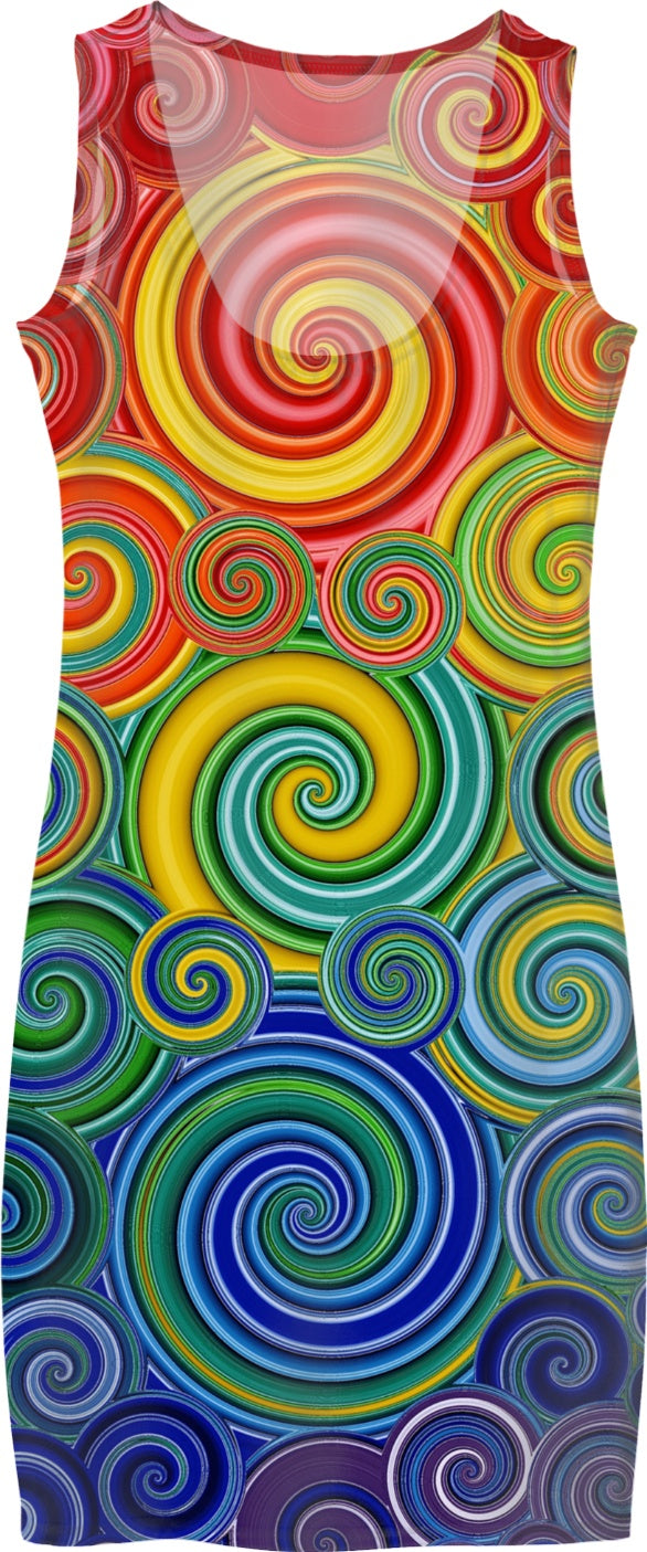 Spirals of Fun Women's Dress