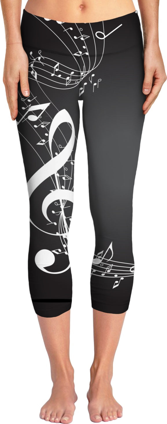 Music Yoga Pants