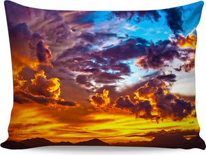 Calming Beach Sunset Pillowcase
