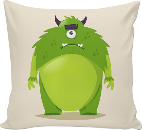 Green Monster Couch Pillow