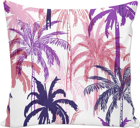 Purple Palm Trees