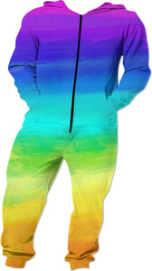 Rainbow Paint Romper