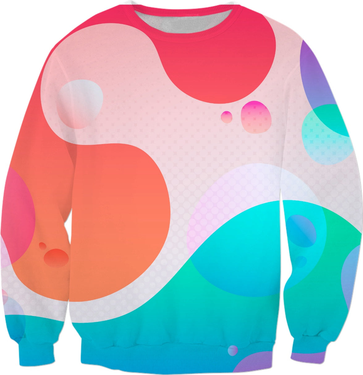 Pink Flows Adult Sweatshirt