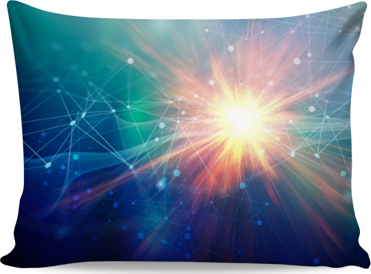 Blue Tech Pillowcase