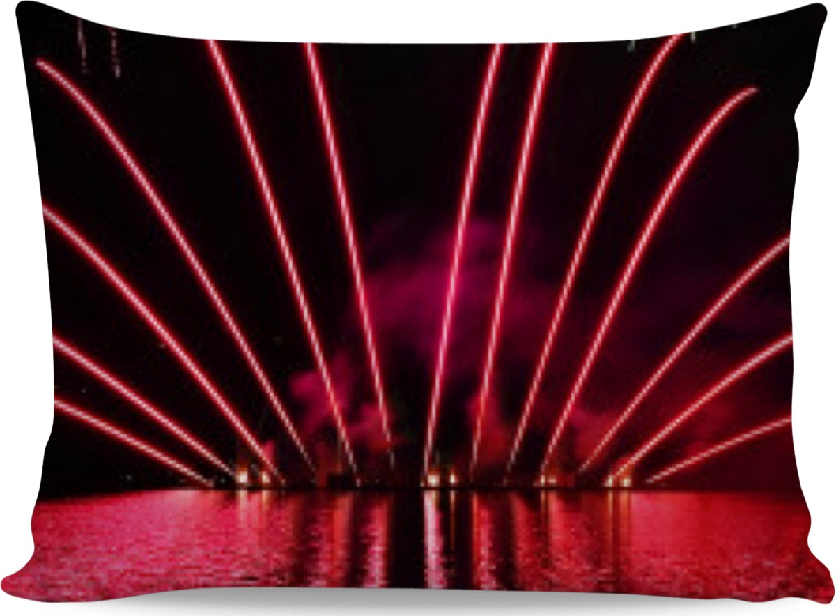 Fireworks On The Water Pillowcase