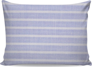 Periwinkle Striped Pillowcase