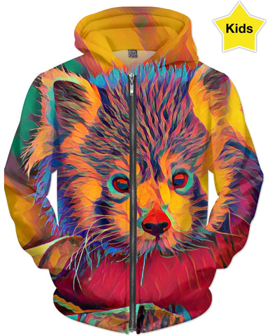 Red Panda Colors Children's Hoodie