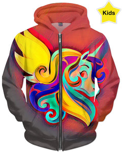 Pegasus Colors Children's Hoodie