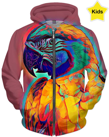 Parrot Colors Children's Hoodie