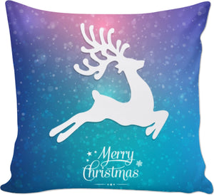 ROCP Merry Christmas Reindeer Couch Pillow